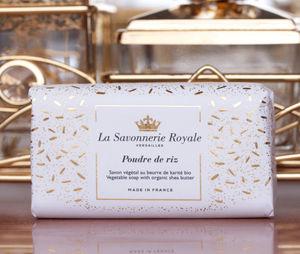 LA SAVONNERIE ROYALE - -poudre de riz - Sapone