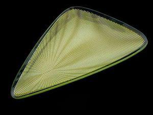 Joseph Joseph - optic triangle green - Piatto Da Portata