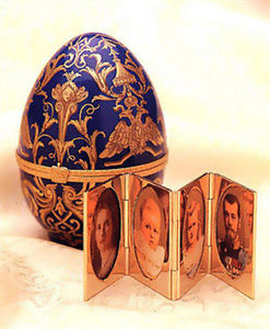 FABERGE-ART -  - Uovo Decorativo