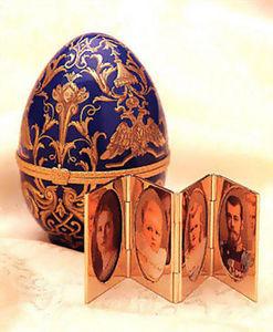 FABERGE-ART -  - Uovo Decorativo