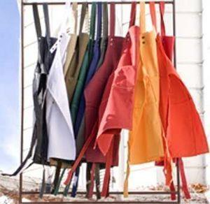 Travaux En Cours - coton - Grembiule Da Giardino