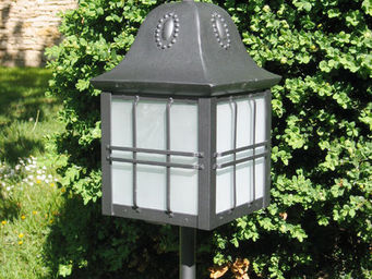 Replicata - sockellaterne jugendstil - Lampada Da Giardino