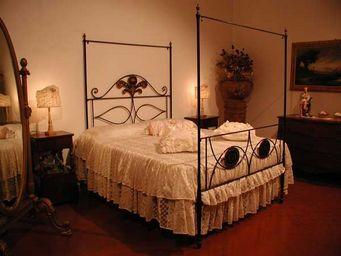 ART CANOssA DI LUCENTI CARLO -  - Letto Matrimoniale A Baldacchino
