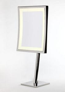 Miroir Brot - square lm-ap - Specchio Con Appoggio Luminoso