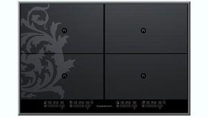 Kuppersbusch - black chrome edition küppersbusch - Piano Di Cottura A Induzione