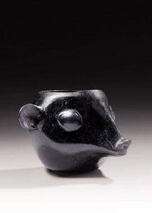 Galerie 1492 - tête d'animal huari - Vaso Decorativo