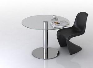 swanky design - astor dining table - Tavolo Da Pranzo Rotondo