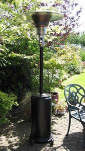 Urban Industry - granite black patio heater - free delivery - Ombrello Riscaldato A Gas