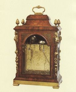 JOHN CARLTON-SMITH - john ellicott, london clockmaker to the king - Orologino Da Tavolo