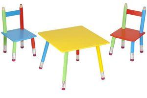 La Chaise Longue - salon pour enfant crayons - Tavolo Da Gioco Per Bambino