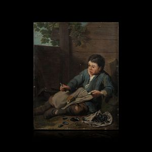Expertissim - jan josef horemans le jeune. l'ouvreur de moules - Olio Su Tela E Olio Su Tavola