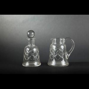 Expertissim - service de verres en cristal de baccarat - Servizio Di Bicchieri