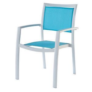 MAISONS DU MONDE - fauteuil turquoise hawai - Poltrona Da Giardino