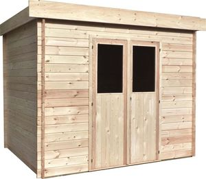 Cihb - abri de jardin moderne en bois non traité futuro 5 - Casetta Da Giardino