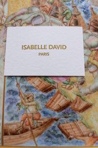 ISABELLE DAVID -  - Svuotatasche