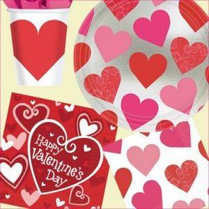 Amscan International Ltd. - valentine's day - Stoviglia Monouso