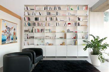 Fitting infinity libreria aperta alluminio fitting