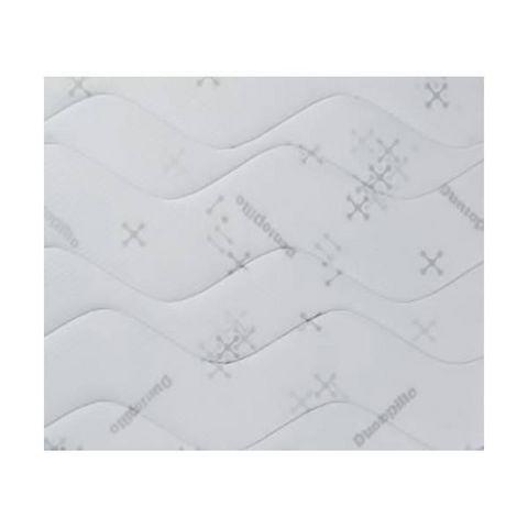 WHITE LABEL - Materasso a molle-WHITE LABEL-Matelas SLEEPING 1 DUNLOPILLO épaisseur 18cm