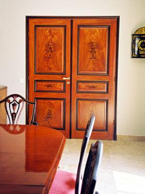 atelier de peinture décorative - Finto legno-atelier de peinture décorative