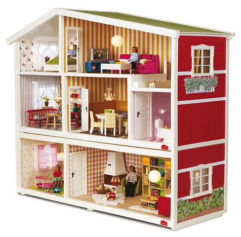 Micki Leksaker - Casa delle bambole-Micki Leksaker-Lundby - Småland